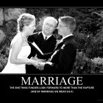 """Getting """"Married"""" Before The Rapture"""
