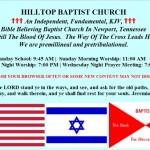 FWOTW: hilltopbaptistnewport.net