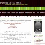 FWOTW: Joyful Help Meet